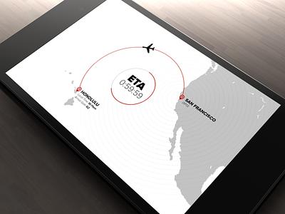 Hawaiian Airlines Motion UX design motion design ux ui animation