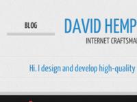 DavidHemphill.com v2.0