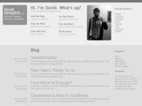 Old DavidHemphill.com Graybox