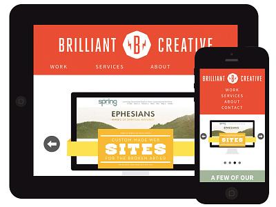 Brilliant Creative website brilliant creative responsive web