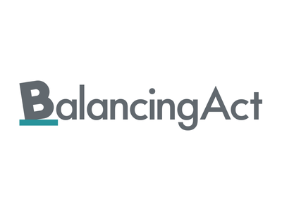 Balancing Act logo balance budget logo branding