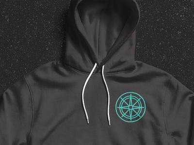 Compass Hoodie Apparel Design apparel design apparel illustration compass