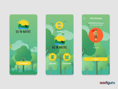 Go In Nature - Mobile App