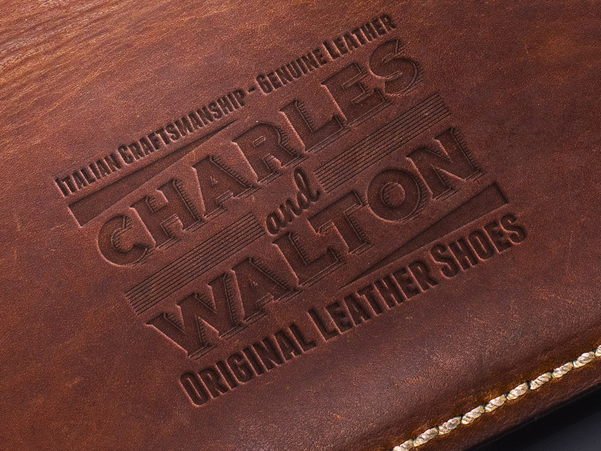 Charles & Walton Vintage Logo