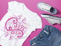 Woman's T-Shirt Print Design