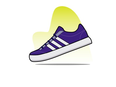 Adidas Sneakers style sport sneakers shoes nike ux design mobile ui kicks illustration icon set graphic gradient footwear fashion ecommerce online store shop design converse adidas