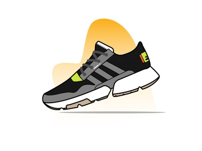 Adidas POD sport sneakers sneaker shoes nike ux design ui mobile app kicks illustration icon set icon graphic gradient footwear fashion ecommerce online store shop design convers adidas
