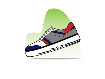 Armani sport sneakers sneaker shoes nike ux design ui mobile app kicks illustration icon set icon graphic gradient footwear fashion ecommerce online store shop design convers adidas