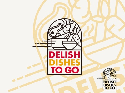 Delish Dishes To Go Logo