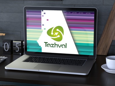 header and logo idea tazhval studio