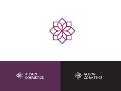 Alison Cosmetics Visual Identity