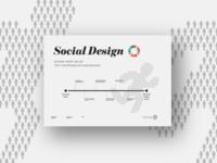 Social Design Poster