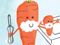 Carrot Shaving