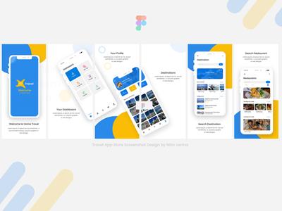 Travel App Store Screenshot
