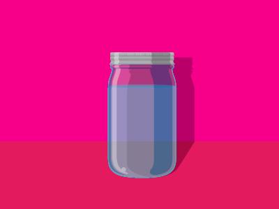 Mason Jar masonjar jar simple shadow light vector detail nice