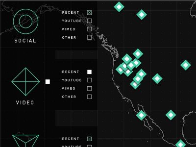 Map process usa line map icons plan wireframe ux ui