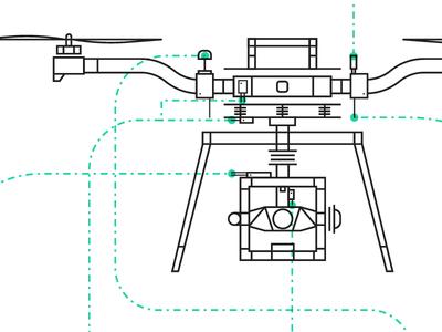 ALTA Diagram manual diagram simple line freefly alta graphic illo icon