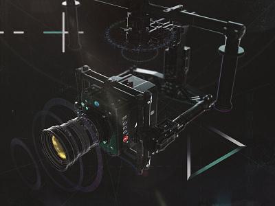 MōVI Wall camera arri gimbal dark black syfy data ui freefly movi