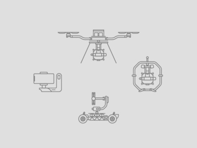 Freefly Product Icons ui web tech simple icon