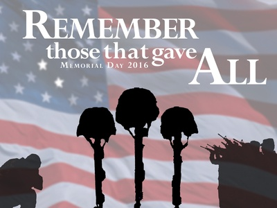 2016 Memorial Day Graphic