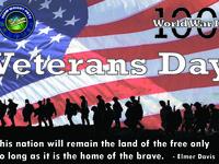 2018 Veterans Day Graphic