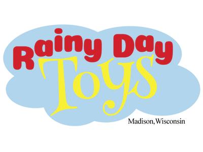 Logo - Rainy Day Toys branding logo vector design illistrator graphic design
