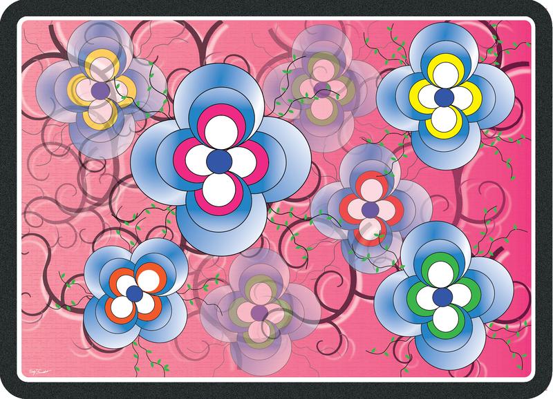 Flowers vector illistrator design graphic design