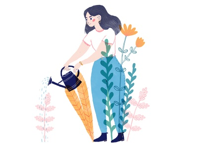 Gardening - Siiri Vaisanen