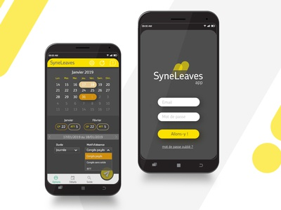 Application mobile Syneleaves