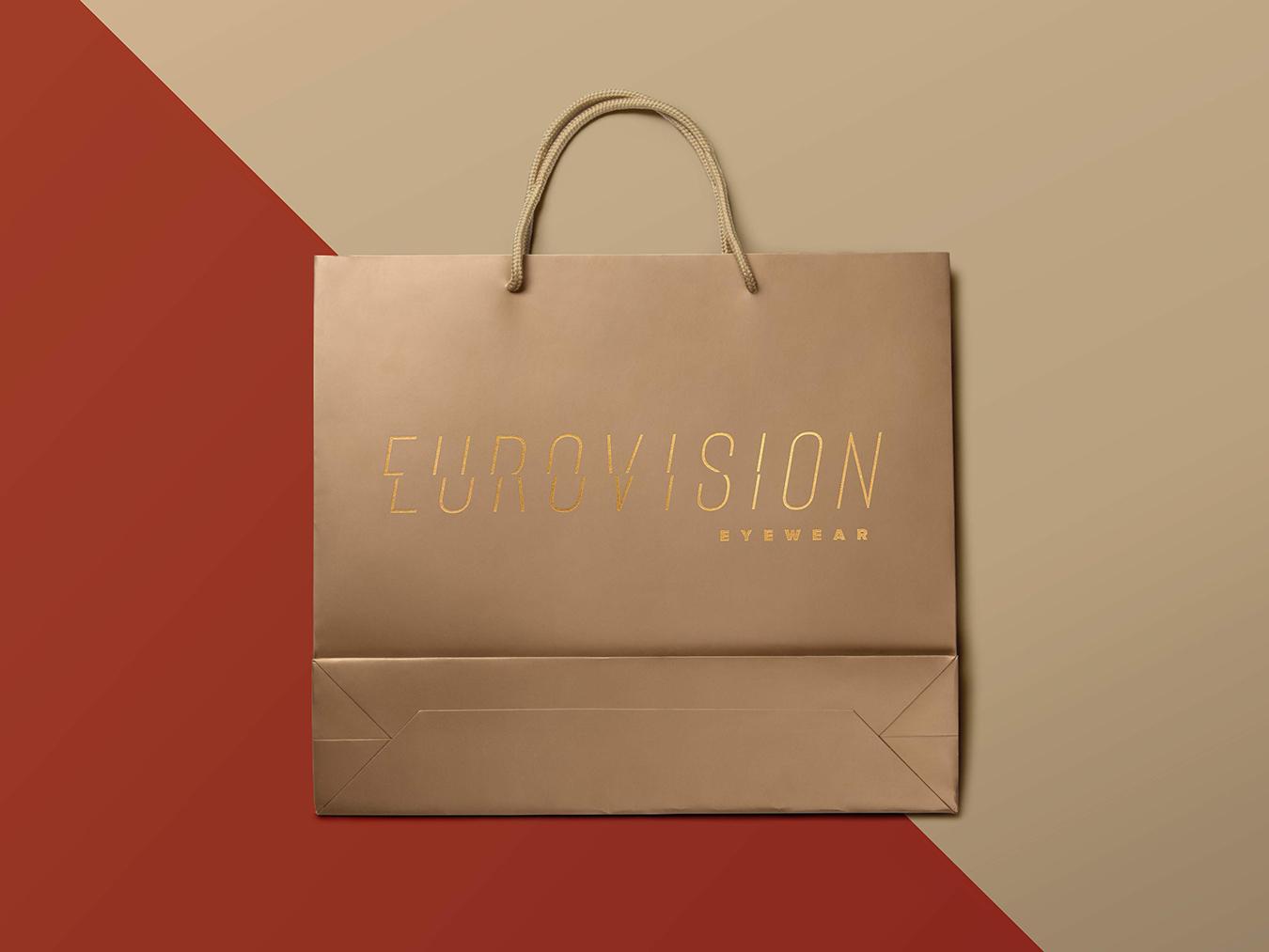 Eurovison vernier scale ロゴタイプ logodesign logotype