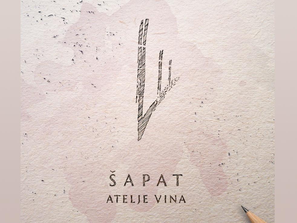 Wine studio Shapat (Whisper) graphicdesign logodesign logotype logo