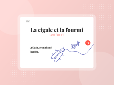 Jean de la Fontaine website : Storytelling