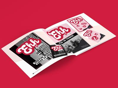 EHH RESTAURANT graphic design posters manual restaurant canadian magazine brochure indesign grafikdesign hamburg graphicdesign branding design brand identity brand design branding brand