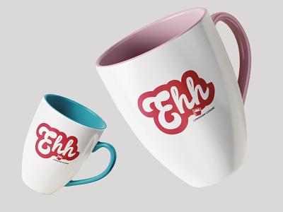 EHH RESTAURANT graphic design mugs restaurant logo icon canadian restaurant brand identity brand design branding brand indesign grafikdesign hamburg graphicdesign