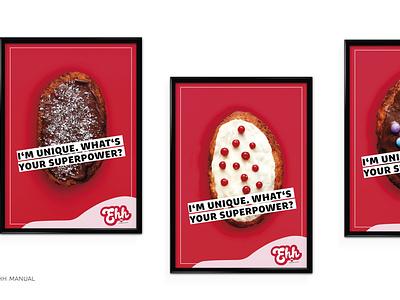 EHH RESTAURANT logo restaurant logo indesign grafikdesign graphicdesign posters manual hamburg restaurant canadian biscuits sweets beavertails beavertails brand design branding brand