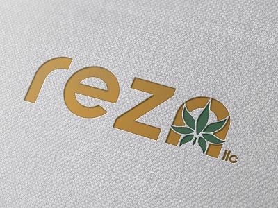 Rezn Logo Design cannabis branding design logo