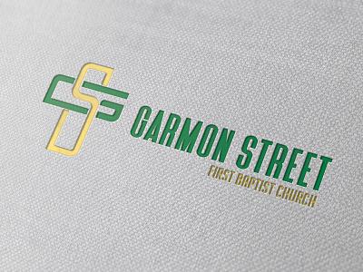 Garmon Street FBC Logo cross church church logo church branding graphic design logo branding design