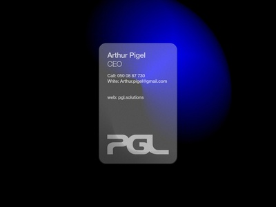pgl corporate identity_business card design minimal web ui illustration logo digital type art typography graphic design branding