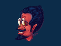 Mischievous Mustache Man