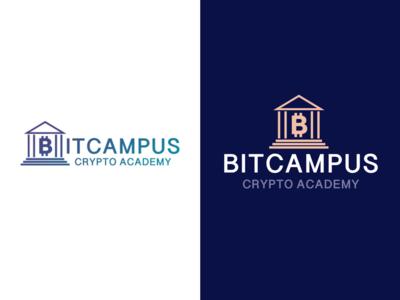 Bitcampus logo design.
