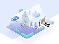 Propertty Home Illustration