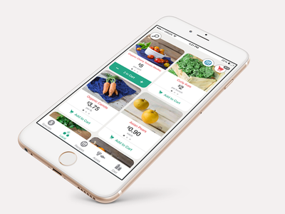 Relay Foods App Concept search cart shop food ux ui ios relay stauffer chris app
