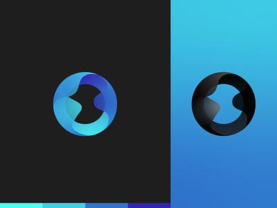 Osmose - Logo Design dark black purple logodesign cryptocurrencies ethereum bitcoin gradient logo blue branding logo design design logo crypto currency cryptocurrency crypto