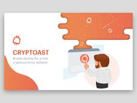Cryptoast - Brand identity