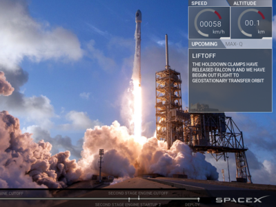 Spacex.com - Live player