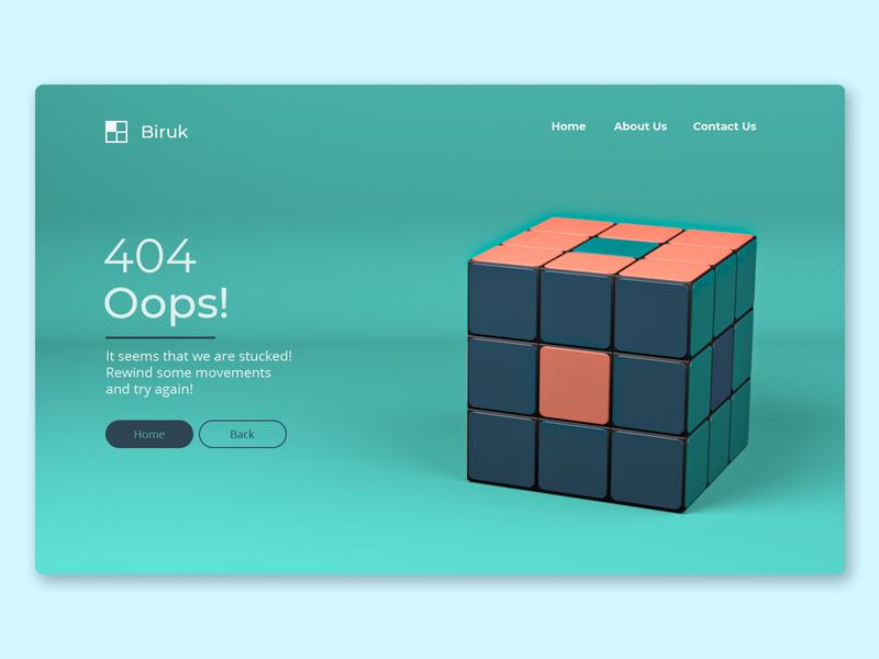 404 - Cube