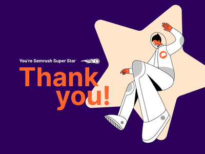 Super Star seo agency austronaut space star superstar super article design digital vector 2d art illustration