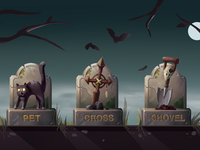 Game Icons. Pet Sematary