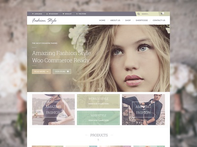 Fashion Style themeforest fashion vintage