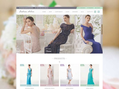 Wedding Love nicdark themes envato themeforest atelier fashion wedding